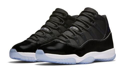 Nike Air Jordan 11 Retro (378037-003) Men's Shoes - Black/Concord White, 11 US