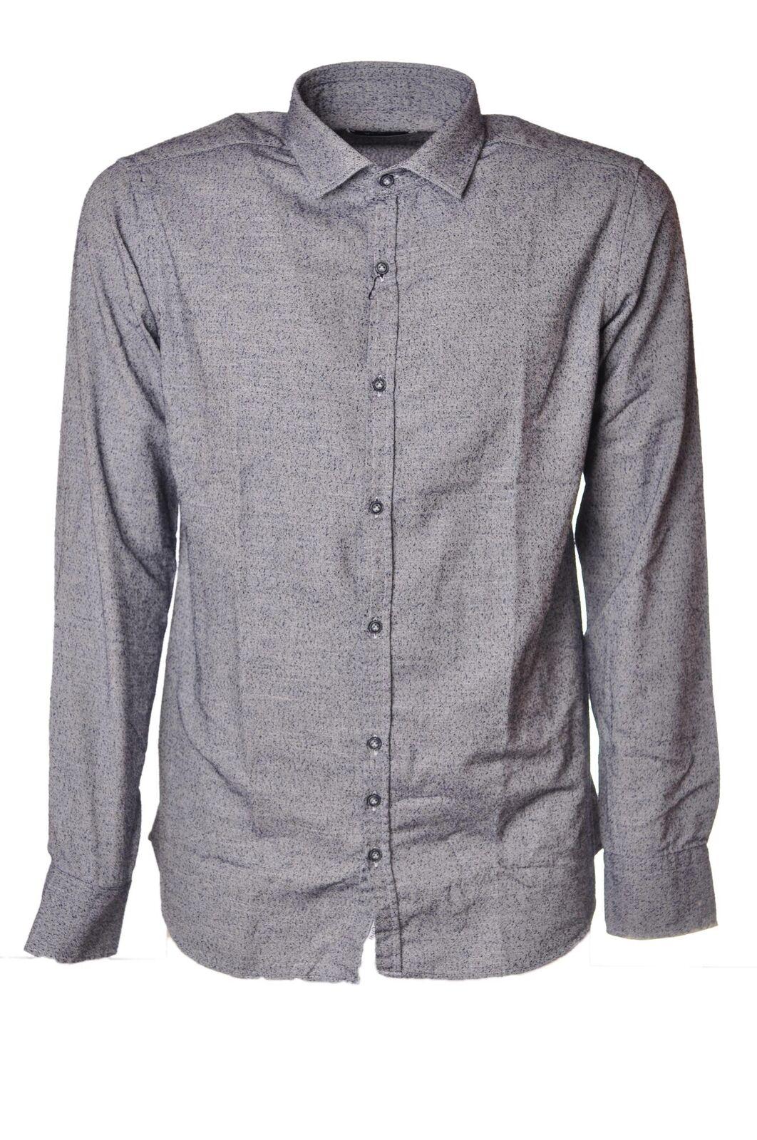 Aglini  -  Camiseta - Hombre - Blau - 4330126A184656