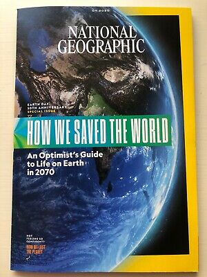 National Geographic 4.2020, EARTH DAY 50th ANNIVERSARY ...