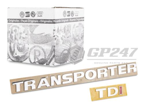 2 x Neu Original Volkswagen VW Transporter T5 T6 Schriftzug Emblem TDI