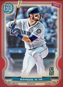 2020 Topps BUNT Mitch Haniger Gypsy Queen RED Base ICONIC! [DIGITAL CARD}