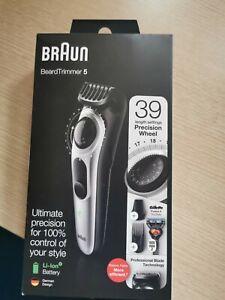 Braun BT5260 Da Uomo Barba Trimmer TOSATRICE, & Rasoio Fusion, 39 impostazioni di lunghezza
