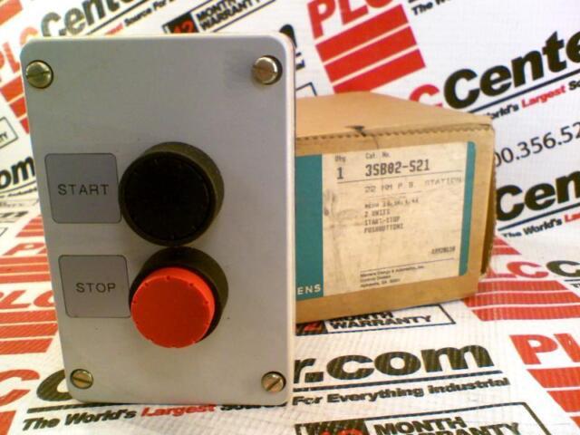 SIEMENS 3SB02-S21 / 3SB02S21 (NEW IN BOX) | eBay