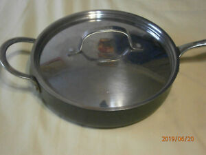 Non Stick 9 1 2 Quot Skillet With Lid Ebay