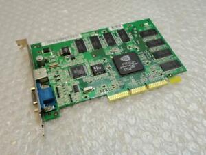 Dell 3K538 Nvidia Geforce 2MX Rev.A03 VGA AGP Carte Graphique Unité