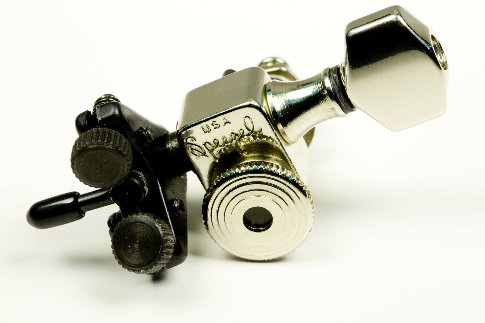 Genuine Sperzel Trimlok D Thing Niquelado Niquelado Niquelado Sintonizador Nuevo Drop D Distribuidor Autorizado 4cf065