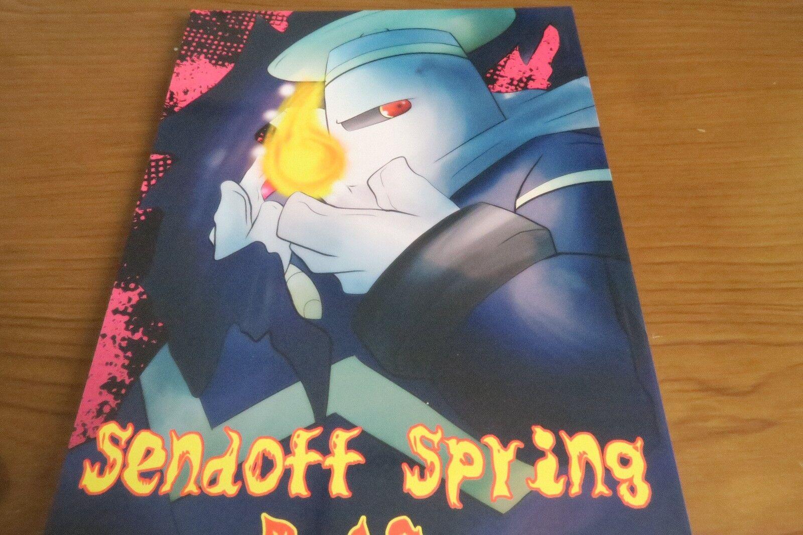 Doujinshi Pokemon Giratina x Dusknero (B5 46p)  Nero Fang Sendoff Furry Kemono  basta comprarlo