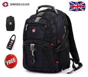 Wenger-Swissgear-17-1-inch-Laptop-Backpack-Notebook-Bag-Rucksack-Backpack-SA8112