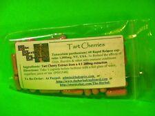 Tart Cherry Capsules Gout Uric Acid Crystal Fighter Arthritis 60Caps1000mg $6.59