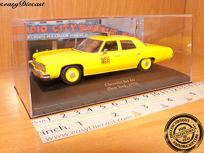 CHEVROLET BEL AIR TAXI CAB 1:43 NEW YORK (USA) 1973 MINT!!!