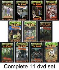 New OUTDOORS with TK and MIKE COMEDY all 11  VIDEO DVD SET video funny hunting