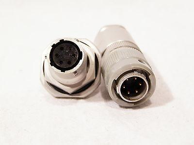 und Buchse Typ1// RFT TGL  24685 Steckverbindung   6-polig  Stecker m f