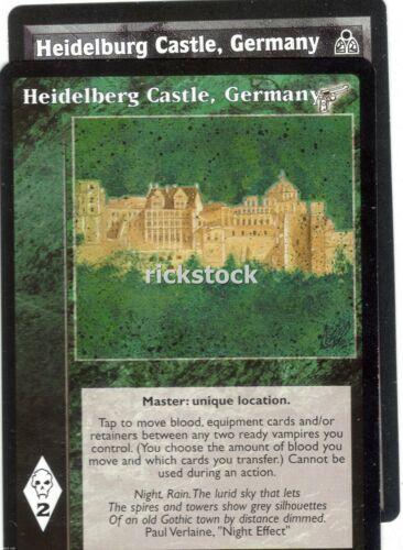 Heidelburg Heidelberg Castle Germany x2 DS KMW Lot C VTES Jyhad