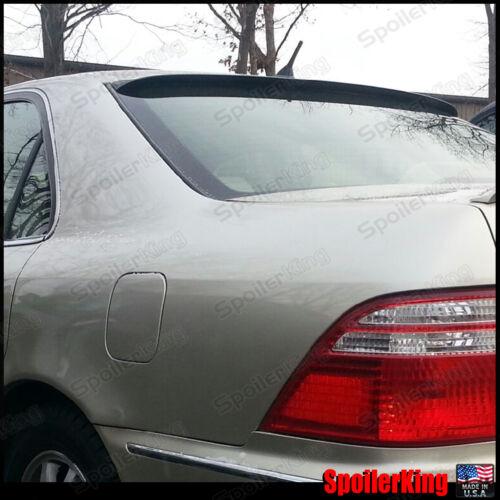 Rear Roof Spoiler Window Wing Fits: Acura RL 1996-04 284R SpoilerKing