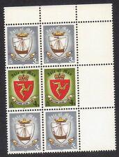 Island Of Man 146 & 147 Block of 6 Stamps 1979 Viking Ship MNH #3