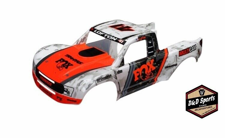 Traxxas 8513 Body - Unlimited Desert Racer - Fox Edition (Painted)   Decals