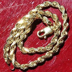 10k-yellow-gold-bracelet-7-0-034-diamond-cut-solid-rope-chain-handmade-1-65g
