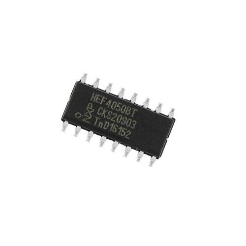 100 Pcs HEF4050BT SOP-16 HEF4050 CD4050 SMD Inverting Buffer