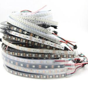 5V-WS2812B-led-strip-5050-RGB-30-60-144-pixels-dream-color-smart-LED-Addressable