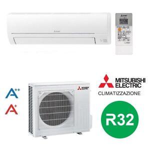 CLIMATIZZATORE-CONDIZIONATORE-MITSUBISHI-MSZ-HR-R-32-MONOSPLIT-12000-BTU-A-A
