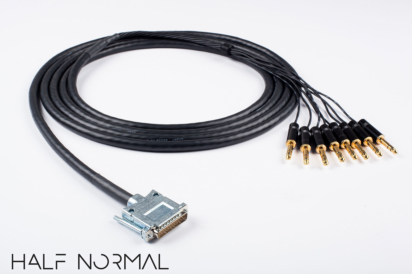 8 Channel Snake Cable 20' Foot Mogami 2932 Neutrik Rean Gold DB25 to 1 4  TRS