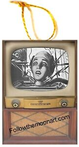 The-Brain-that-Wouldn-039-t-Die-60-039-s-Movie-Retro-Wood-Ornament-TV-Set-USA