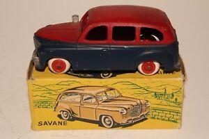 594ms Cij Jouets, Renault Taxi Avec Boîte D'origine