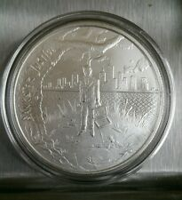 1 oz .999 silver bankster justice Crescent City Silver sound money end the fed