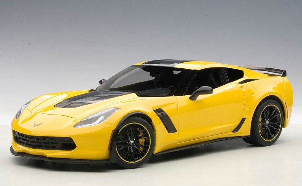 71260 AUTOart 1 18 Chevrolet Corvette (C7) Z06 C7.R Edition (amarillo) model cars