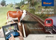 ROCO 81763 Neuheiten Winter 2013 / 2014 Spur H0, H0e und TT - NEU