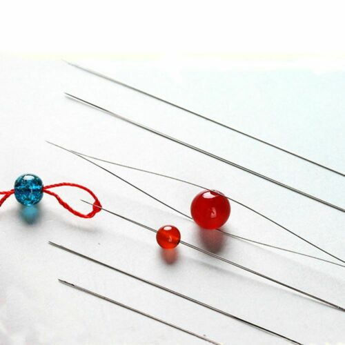 1//3//5 Pcs Beading Needles Easy to Threading String Cord Jewelry Hand Tools DIY