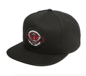 LAKAI X INDEPENDENT COLAB SNAPBACK CAP BLACK