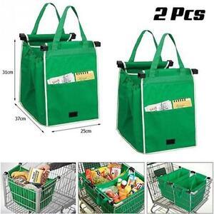 6ba8557aeda Grab Bag Shopping Bags. 2 Pcs New Reusable Grocery ...