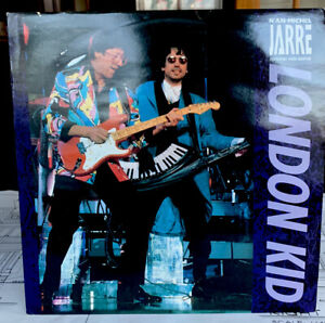 "London Kid Jean-Michel Jarre 12"" vinyl single record (Maxi) UK PZ32 POLYDOR- B"