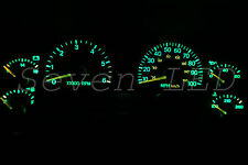 Jeep Wrangler TJ 97-06 Dash Instrument Cluster Speedometer LED Kit  Green