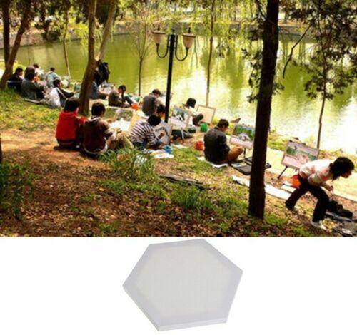 Hexagon Wood Framed Artist Blank Art Canvas Boards For Acrylic Oil Painting