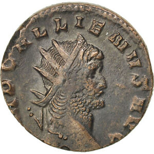 Cohen #153 Antoninianus 2.30 Billon #65268 Gallienus Au 50-53