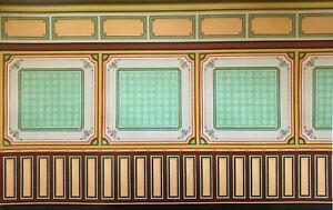 Dollhouse Miniature Art Panel Wallpaper #6045B