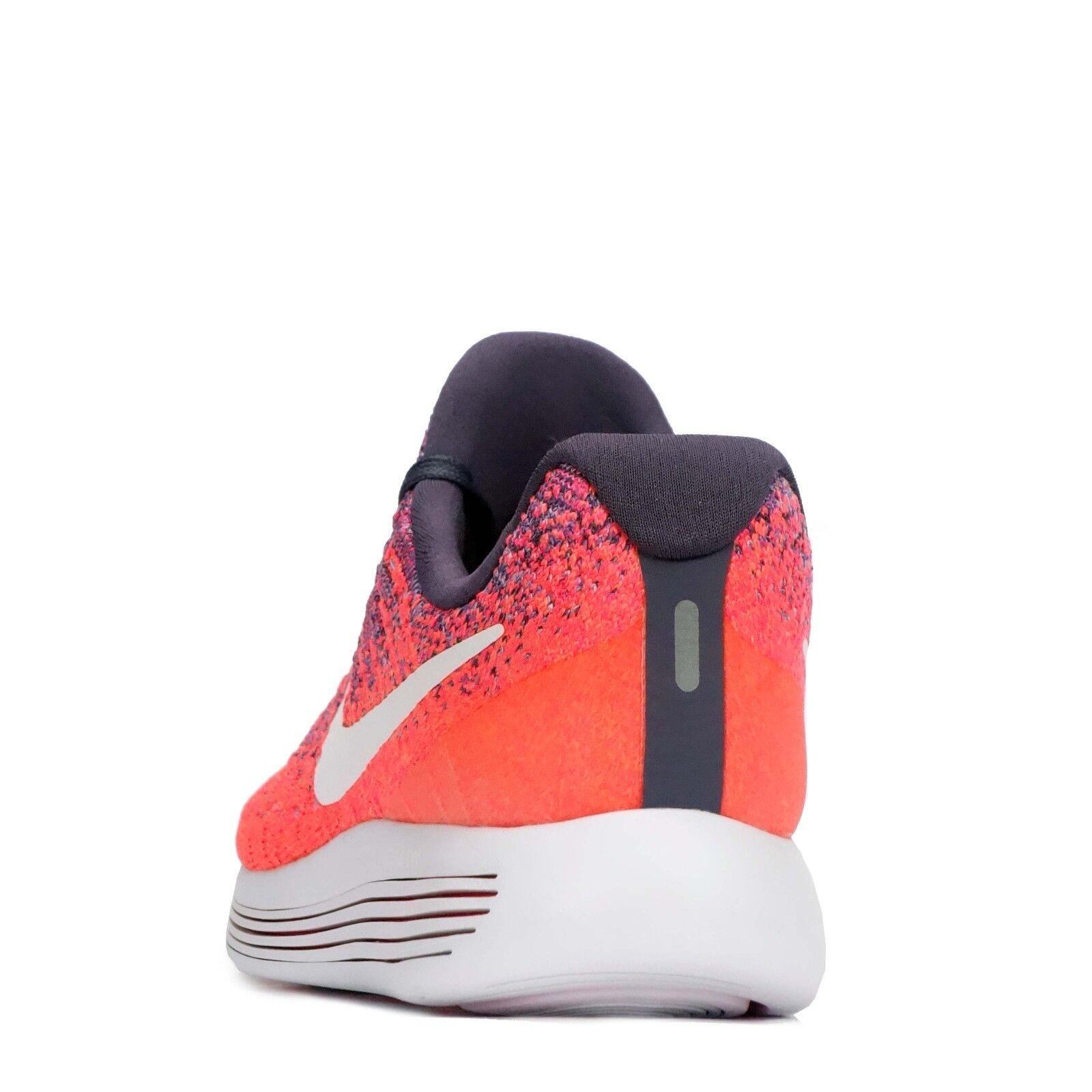 Nike lunarepic basso basso basso Flyknit 2 Donna Scarpe da corsa UVETTA Scuro/Bianco 0723e2