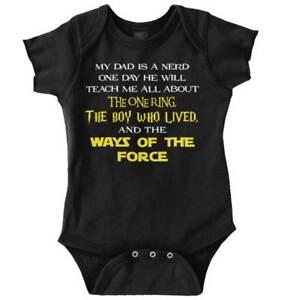 Nerdy-Dad-Teach-Me-About-Space-Movie-Magic-Newborn-Romper-Bodysuit-For-Babies