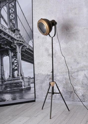 Stehlampe Industriedesign Leuchte Loft Standleuchte Bauhaus Metalllampe Art Deco