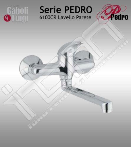 Rubinetto GABOLI Miscelatore LAVELLO PARETE serie PEDRO cod 6100CR