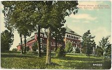 Mother House and Grounds at Mt. Carmel in Dubuque IA Postcard