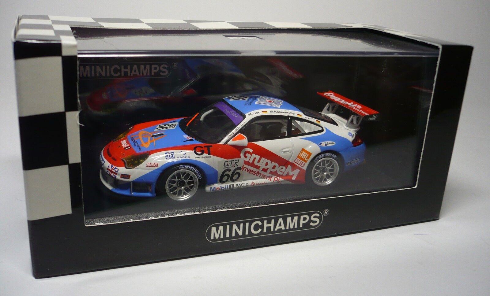 1 PORSCHE 911 GT3 RSR SPA 2005 1 43 MINICHAMPS
