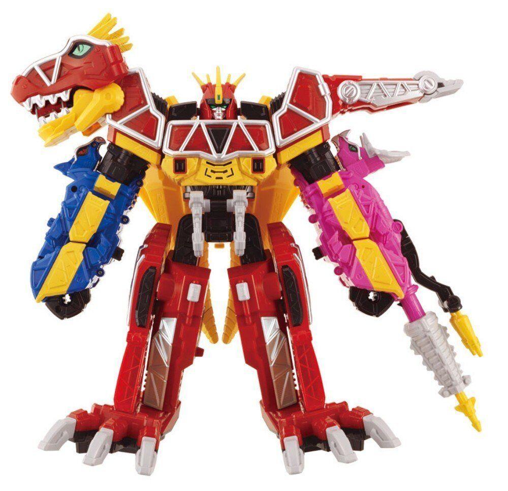 F S Juden Sentai KyoRyujin Power Rangers combined DX MEGAZORD from Japan
