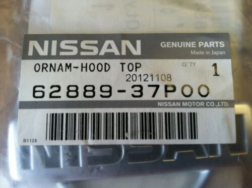 NEW OEM 1990-1996 NISSAN 300ZX FRONT HOOD EMBLEM NISSAN LOGO