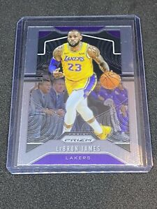 2019-20-Panini-Prizm-LEBRON-JAMES-129-Base-LAKERS-ROOKIE-RC