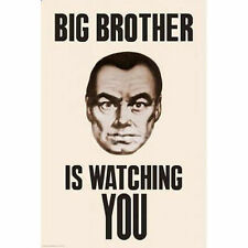 BIG BROTHER IS WATCHING YOU - PROPAGANDA POSTER - 24x36 5587