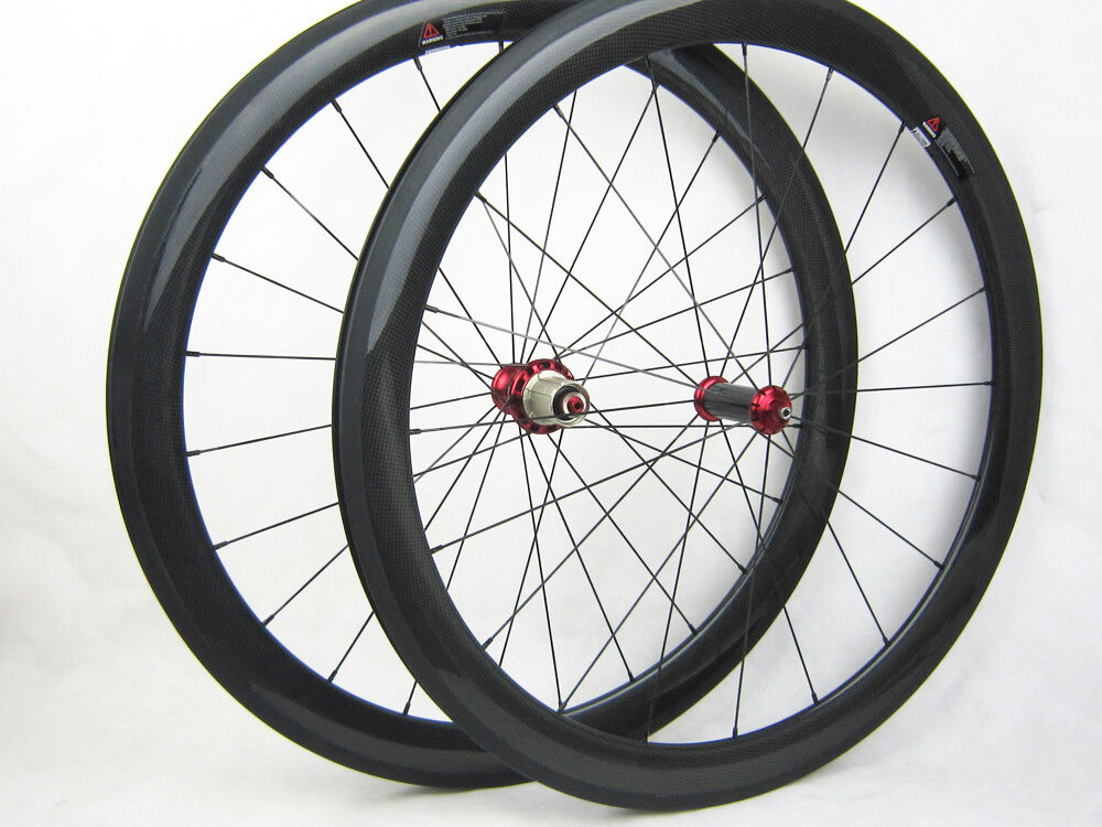 Speedcarbon11  50mm clincher full carbon road bike wheels carbon hub 25mm width  shop makes buying and selling
