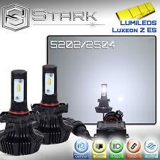 New Z ES LED 8000LM Conversion Kit 6000K White Fog Light Bulbs PAIR - 5202 2504